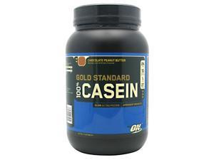 100% Casein Protein Chocolate Peanut Butter - Optimum Nutrition - 2 lbs - Powder