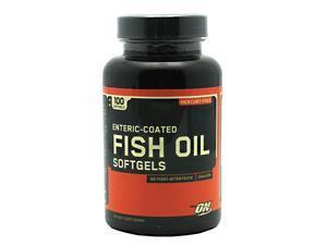 Fish Oil, Omega-3's, 100 Softgels, From Optimum