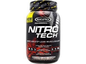 Performance Series Nitro-Tech Cookies & Cream - Muscletech - 2 lb - Powder