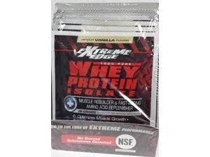 Extreme Edge Whey Protein Isolate - Vanilla Packets - Bluebonnet - 7 - Packet