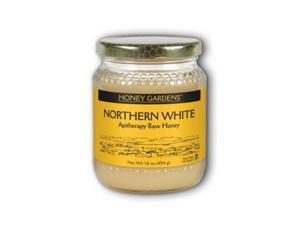 Raw Honey White Gold (Natural) - Honey Gardens - 1 lb - Liquid