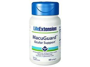 MacuGuard Ocular Support with C3G - Life Extension - 60 - Softgel