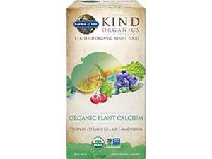 Kind Organics Calcium - Garden of Life - 180 - Tablet