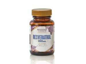 Resveratrol 100mg - Reserveage - 60 - VegCap