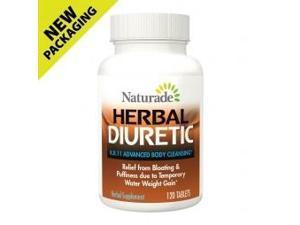 KB 11 Herbal Diuretic - Naturade Products - 120 - Tablet