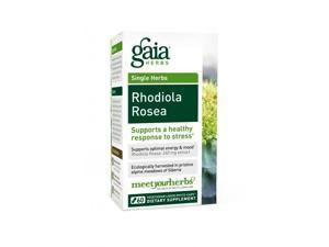 Rhodiola Rosea - Gaia Herbs - 60 - VegCap