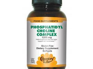 Phosphatidyl Choline Complex 1200mg - Country Life - 100 - Softgel