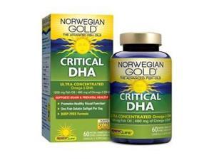 Norwegian Gold Critical DHA - Renew Life - 60 - Softgel