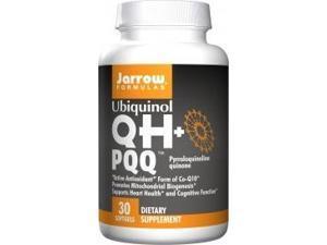 QH + PQQ (Ubiquinol + Pyrroloquinoline Quinone) - Jarrow Formulas - 30 - Capsule