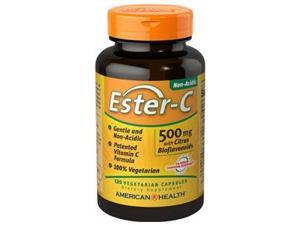 Ester-C 500 mg with Citrus Bioflavonoids - American Health Products - 120 - VegCap