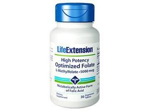 High Potency Optimized Folate - Life Extension - 30 - Tablet
