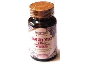 Reserveage Grape Seed Extract with Resveratrol - Reserveage - 60 - VegCap