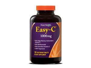 Easy C 1000mg with Bioflavonoids - Natrol - 180 - Veg Tablet