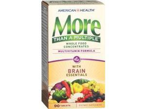 More Than A Multiple with Brain Essentials - American Health Products - 90 - Tablet