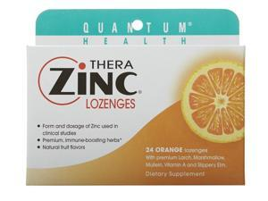Thera Zinc Lozenges-Orange - Quantum - 24 - Lozenge