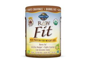Organic  Fit Chocolate - Garden of Life - 450 g - Powder