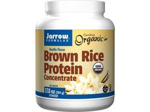 Brown Rice Protein Vanilla - Jarrow Formulas - 1 lbs - Powder