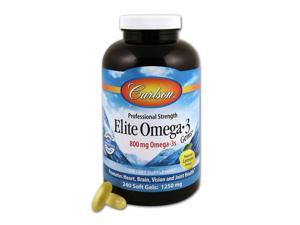 Elite Omega-3 Gems - Carlson Laboratories - 240 - Softgel