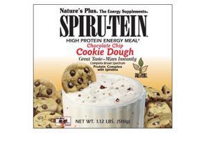 Spiru-Tein Chocolate Chip  Cookie dough - Box - Nature's Plus - 8 Packet - Powder