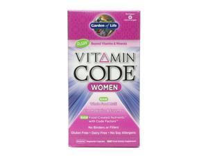 Vitamin Code Women's Multi - Garden of Life - 240 - VegCap