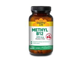 Methyl B12 1000 mcg - Country Life - 60 - Lozenge