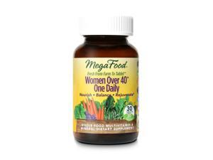 Women Over 40 One Daily - MegaFood - 30 - Tablet