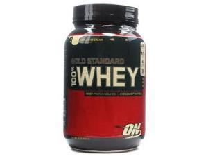 100% Whey Gold Standard-Vanilla Ice Cream - Optimum Nutrition - 2 lbs - Powder