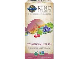 Kind Organics Women Multi 40+ - Garden of Life - 60 - Tablet