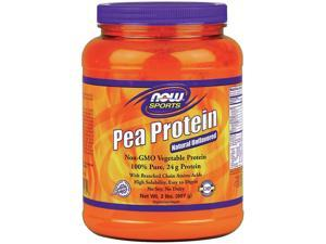NOW? Sports - Pea Protein Natural Unflavored - 2 lbs (907 Grams) by NOW