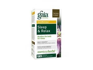 Sleep & Relax - Gaia Herbs - 50 - VegCap