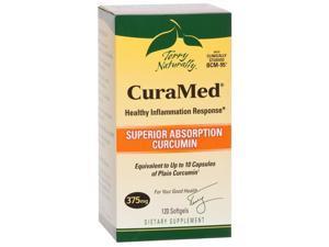 CuraMed 375 mg - EuroPharma (Terry Naturally) - 120 - Capsule