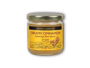 Raw Honey, Creamy Cinnamon - Honey Gardens - 9 oz - Liquid