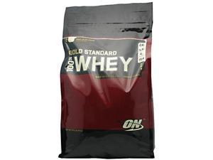100% Whey Gold Standard Protein - Vanilla - Optimum Nutrition - 10 lbs - Powder