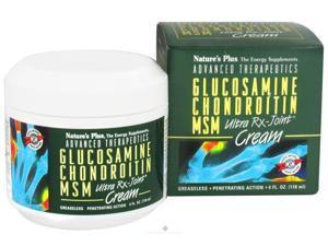 Ultra RX Joint Cream Glucosamine/Chondroitin/MSM-Jar - Nature's Plus - 4 oz - Jar