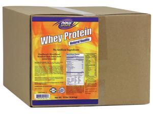 Whey Protein Vanilla - Now Foods - 10 lbs - Powder