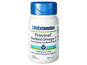 PROVINAL- Purified Omega-7 - Life Extension - 30 - Softgel