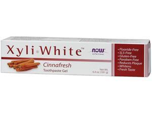 NOW? Solutions - XyliWhite? Toothpaste Gel, Cinnafresh - 6.4 oz (181 Grams) by N
