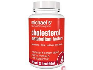 Cholesterol Metabolism Factors - Michael's Naturopathic - 270 - Tablet