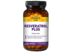 Resveratrol Plus 100mg - Country Life - 120 - VegCap