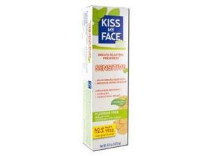 Toothpaste Sensitive Gel Fluoride Free - Kiss My Face - 4.5 oz - Paste