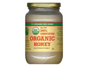 Certified Organic Honey - Raw, Unheated, Unprocessed - YS Organic Bee Farms - 32 oz - Liquid