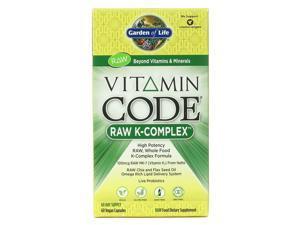 Vitamin Code K Complete - Garden of Life - 60 - Capsule