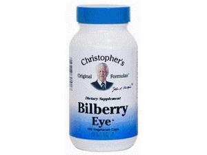 Bilberry Eye Formula - Dr. Christopher - 100 - VegCap