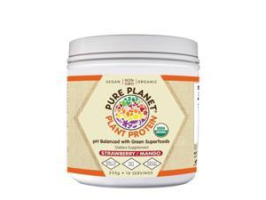 Plant Protein Strawberry Mango - Pure Planet Products - 235g - Powder