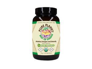 Best Of Greens Organic Green Apple - Pure Planet Products - 75 gm - Powder