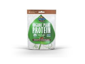 Organic Plant Protein Smooth Chocolate - Garden of Life - 280 g - Powder