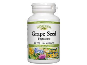 Grape Seed Phytosome 50mg - Natural Factors - 60 - Capsule