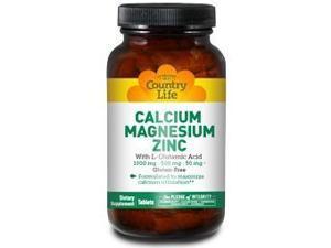 Calcium-Magnesium-Zinc - Country Life - 250 - Tablet