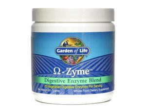 OmegaZyme Powder - Garden of Life - 81 g - Powder