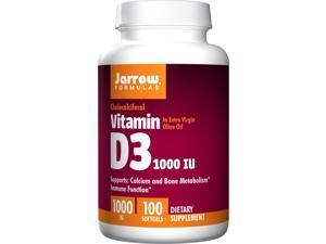 Vitamin D3 1000 IU - Jarrow Formulas - 100 - Softgel